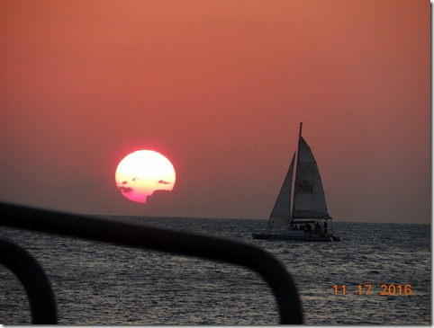 Sunset, Mallory Square, Key West