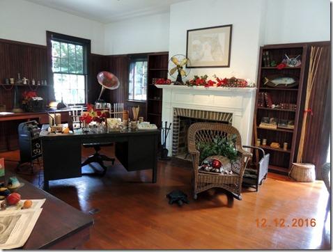 Edison's Study, Edison House, Ft. Myers FL