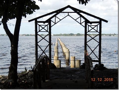 Edison's dock, Edison House, Ft. Myers FL