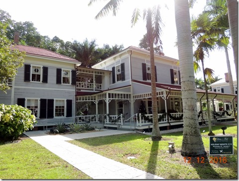 Edison's House, Edison House, Ft. Myers FL