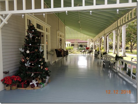 Porch, Edison House, Ft. Myers FL