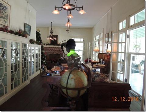 Living room, Edison House, Ft. Myers FL