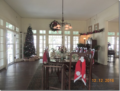 Ford dining room, Edison House, Ft. Myers FL