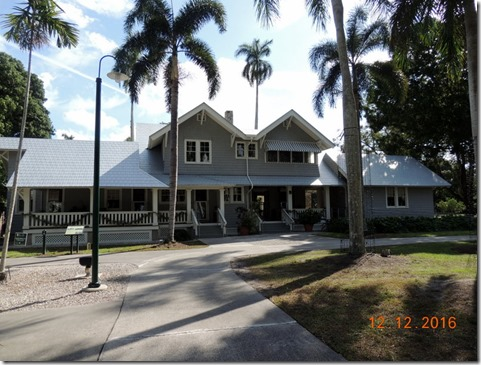 Ford House, Edison House, Ft. Myers FL