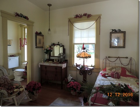 Maid's room, Ford house, Edison House, Ft. Myers FL