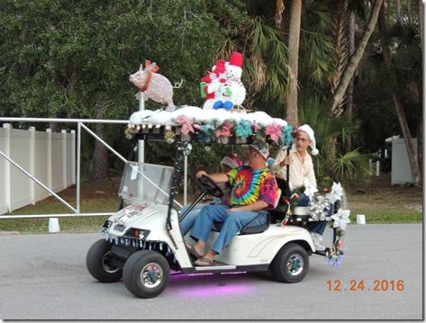 Christmas Golf Cart Parade