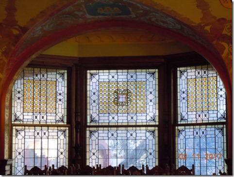 Tiffany windows, Flager College, St. Augustine