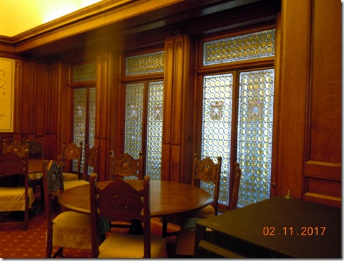 Tiffany doors, Flager College, St. Augustine