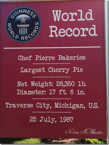 Cherry Pie Sign