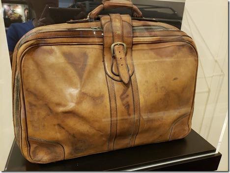 JW suitcase