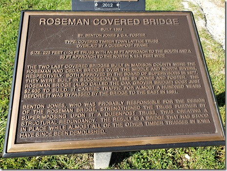 MC Roseman bridge