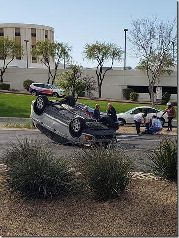 car accident tbird