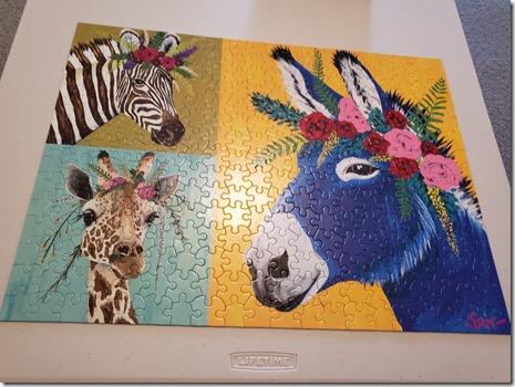 Donkey puzzle 2