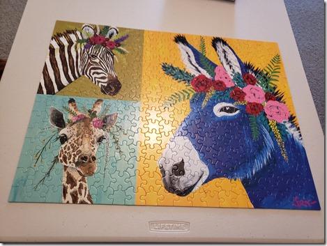 Donkey puzzle