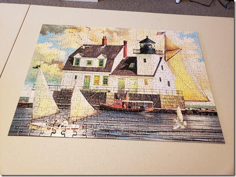 Light house puzzle 2