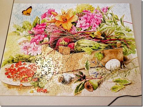 Vegetable puzzle 1