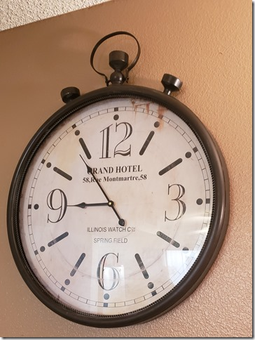 New clock     1