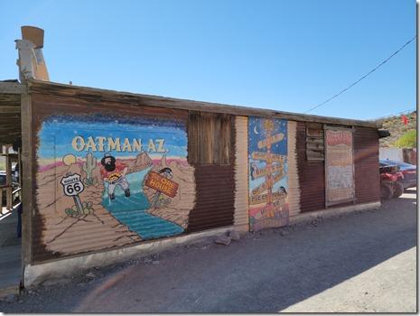 Oatman murals